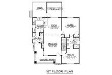 Craftsman Floor Plan - Main Floor Plan Plan #1064-45