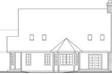 Home Plan - Farmhouse Exterior - Rear Elevation Plan #124-419
