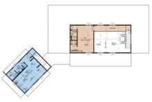 Country Floor Plan - Upper Floor Plan Plan #923-127