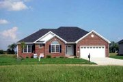 Ranch Style House Plan - 3 Beds 2 Baths 1475 Sq/Ft Plan #412-107 Exterior - Front Elevation