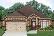Traditional Style House Plan - 3 Beds 2 Baths 1655 Sq/Ft Plan #84-551 Exterior - Front Elevation