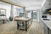 Modern Style House Plan - 3 Beds 2.5 Baths 2116 Sq/Ft Plan #924-4 Interior - Kitchen