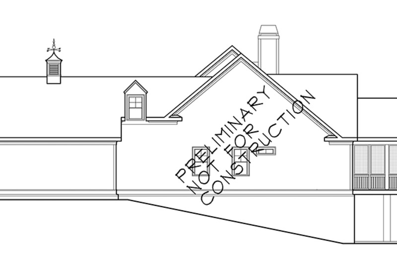 Country Exterior - Other Elevation Plan #927-942 - Houseplans.com