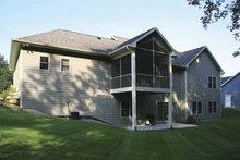 Craftsman Exterior - Rear Elevation Plan #928-132
