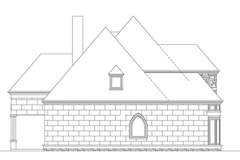 European Exterior - Other Elevation Plan #119-417 - Houseplans.com