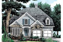 House Plan Design - Country Exterior - Front Elevation Plan #927-684