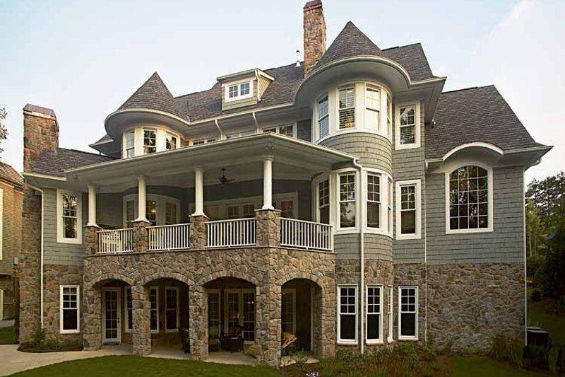 Craftsman Exterior - Rear Elevation Plan #453-459 - Houseplans.com