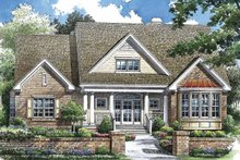 Architectural House Design - Traditional Exterior - Front Elevation Plan #929-769