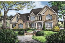 House Plan Design - Traditional Exterior - Front Elevation Plan #929-820