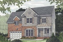 House Plan Design - Traditional Exterior - Front Elevation Plan #453-521