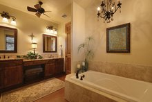 Country Interior - Master Bathroom Plan #140-171