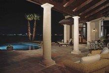 Architectural House Design - Mediterranean Exterior - Rear Elevation Plan #1039-2