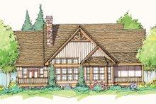 Craftsman Exterior - Rear Elevation Plan #929-935