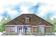 Country Exterior - Front Elevation Plan #938-13