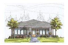Prairie Exterior - Front Elevation Plan #895-70