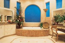 Classical Interior - Bathroom Plan #1021-4