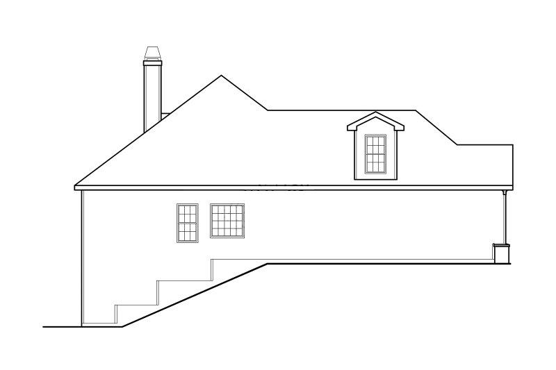 Craftsman Exterior - Other Elevation Plan #927-566 - Houseplans.com