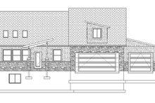 Ranch Exterior - Front Elevation Plan #1060-6