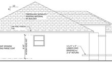 Architectural House Design - Mediterranean Exterior - Other Elevation Plan #1058-33
