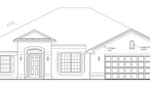 Home Plan - Mediterranean Exterior - Front Elevation Plan #1058-27