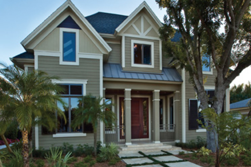 Traditional Exterior - Front Elevation Plan #930-441 - Houseplans.com