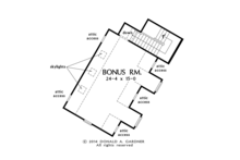 Traditional Floor Plan - Other Floor Plan Plan #929-980