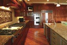 Country Interior - Kitchen Plan #132-483