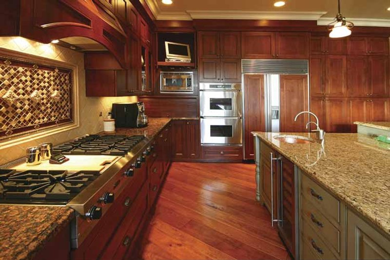 Country Interior - Kitchen Plan #132-483 - Houseplans.com