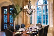 Mediterranean Style House Plan - 3 Beds 4.5 Baths 5199 Sq/Ft Plan #930-314 Interior - Dining Room