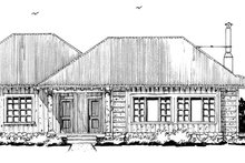 Architectural House Design - Country Exterior - Other Elevation Plan #942-28