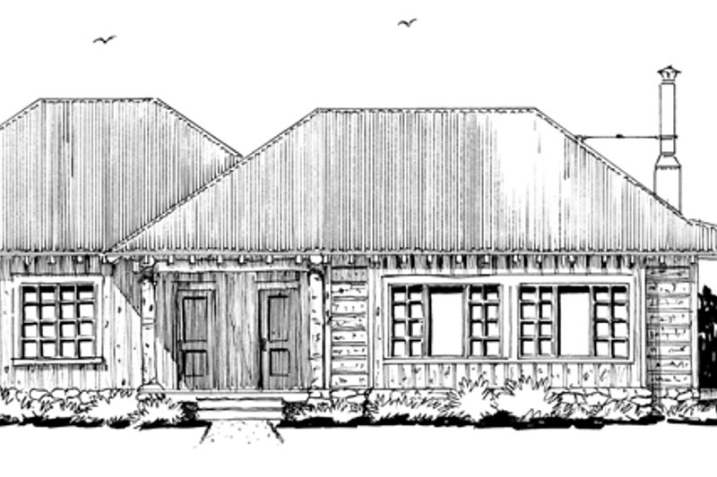 Country Exterior - Other Elevation Plan #942-28 - Houseplans.com