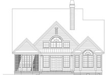 Architectural House Design - Traditional Exterior - Rear Elevation Plan #929-805