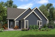 Craftsman Style House Plan - 4 Beds 3.5 Baths 2960 Sq/Ft Plan #48-994 Exterior - Rear Elevation