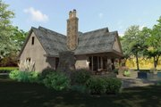Craftsman Style House Plan - 3 Beds 3 Baths 2397 Sq/Ft Plan #120-193 Exterior - Other Elevation