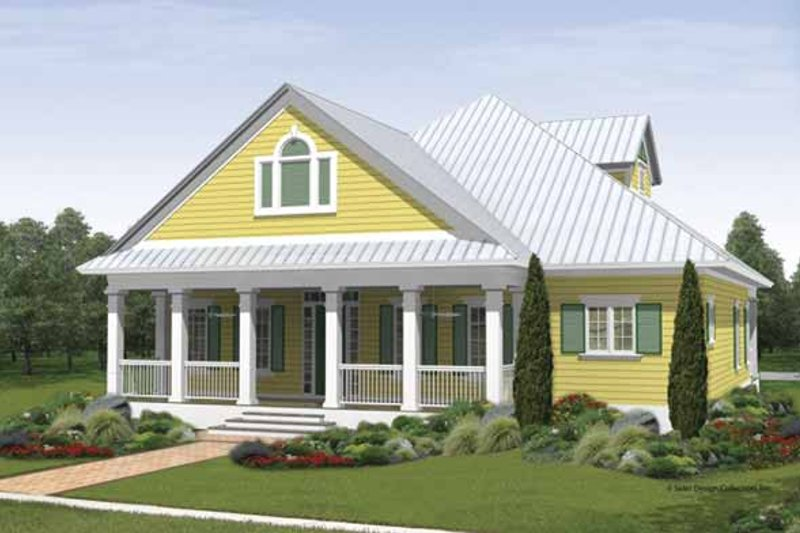 House Plan Design - Traditional Exterior - Front Elevation Plan #930-405