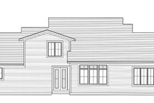 Architectural House Design - Craftsman Exterior - Rear Elevation Plan #46-830