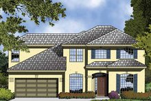 House Plan Design - Contemporary Exterior - Front Elevation Plan #1015-50