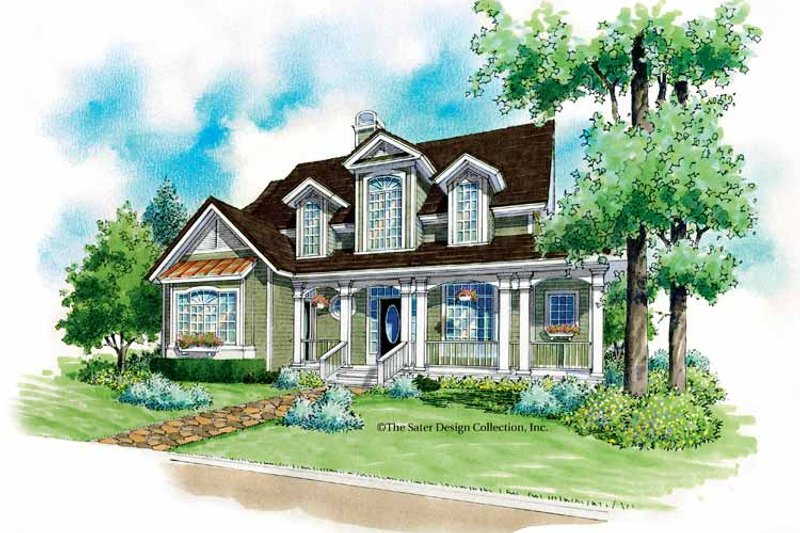 Victorian Exterior - Front Elevation Plan #930-181 - Houseplans.com