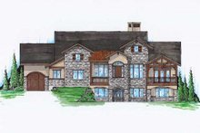 Home Plan - Craftsman Exterior - Front Elevation Plan #5-358