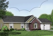 House Plan Design - Traditional Exterior - Front Elevation Plan #11-101