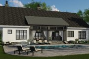 Farmhouse Style House Plan - 4 Beds 3.5 Baths 2480 Sq/Ft Plan #51-1144 Exterior - Rear Elevation