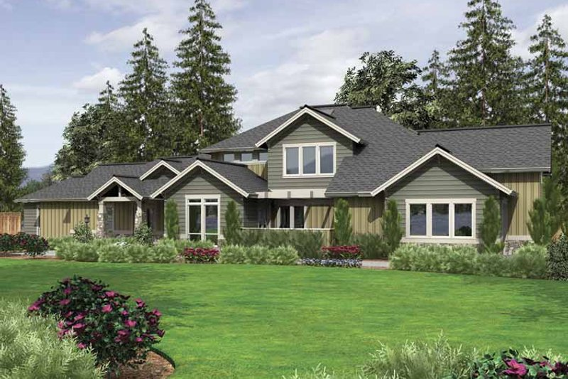 Home Plan - Country Exterior - Front Elevation Plan #48-855