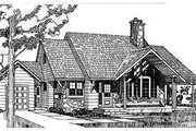 Cottage Style House Plan - 3 Beds 2 Baths 1682 Sq/Ft Plan #47-104