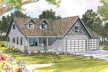 Home Plan - Farmhouse Exterior - Front Elevation Plan #124-441