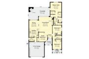 Craftsman Style House Plan - 4 Beds 2 Baths 1920 Sq/Ft Plan #930-503