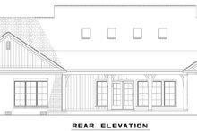 Dream House Plan - European Exterior - Rear Elevation Plan #17-2543