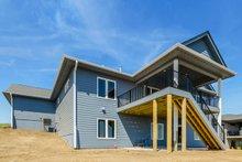 Ranch Exterior - Rear Elevation Plan #70-1484