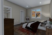 Traditional Style House Plan - 3 Beds 2 Baths 1699 Sq/Ft Plan #1060-60 Interior - Master Bedroom