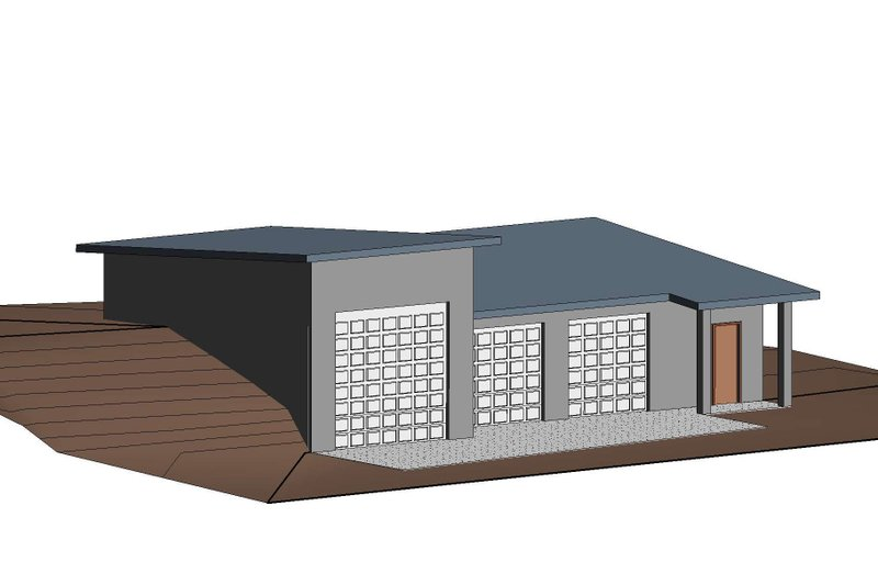 Traditional Exterior - Front Elevation Plan #1066-99