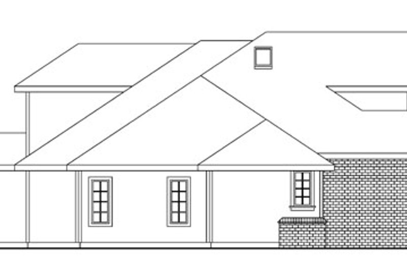 European Exterior - Other Elevation Plan #124-742 - Houseplans.com
